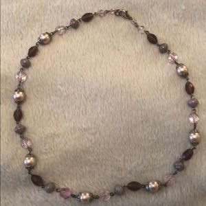 """Beaded necklace 18"""""""